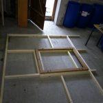 Holz Lattung für Bienenwagen Element